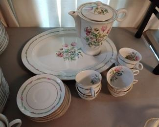 Haviland Brothers Garden Flower China