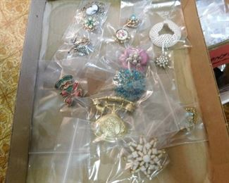 Costume Brooches