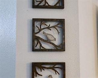 Metal Bird Art