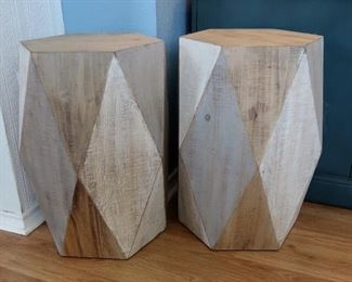 Wood Accent Tables-Very Stylish