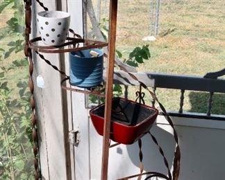 Iron Plant Stand