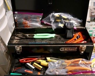 Kobalt 2 Drawer Toolbox-Everything works great.