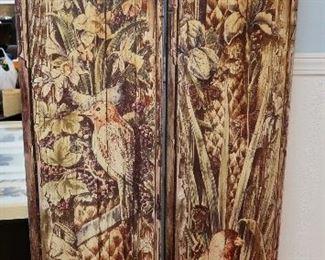 Antique Panel Art Pieces-Just gorgeous