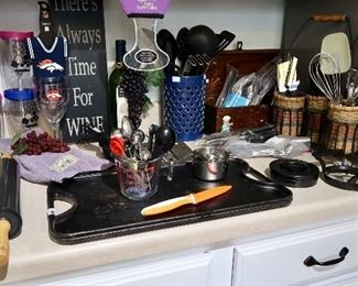 Many Kitchen Accessories