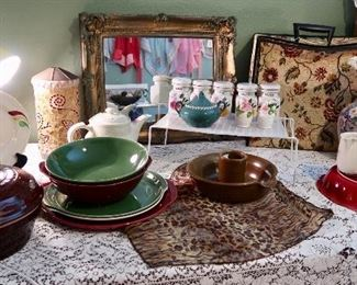 Vintage Ballerina Ware and other pieces