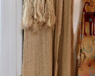 Vintage Hand Knitted Dress and Throw