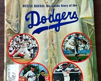Vintage Sports Illustrated Magazine- Los Angeles Dodgers Cover