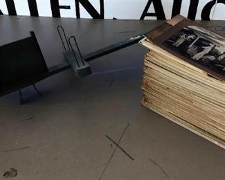 Antique Stereoptican & Slides