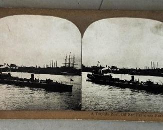Pre-WWI/Spanish-American War Military/Naval Stereoptican Slides