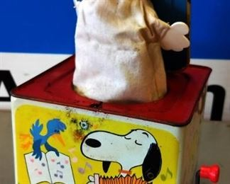 "Vintage ""Snoopy"" Jack-in-the-Box"