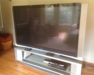 """This Sony TV is 70"""".  It is not a smart tv.  It is ten years old but works great.  Presale $125....stand included.  It measures 71"""" long x 28"""" deep x 60"""" high.  Perfect for kids to play games or watch movies."""