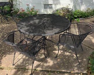 Classic outdoor patio furniture