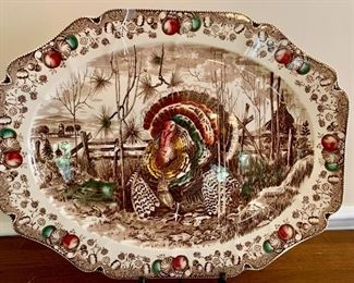 Thanksgiving is coming! And we have your Johnson Brothers classic turkey platter!