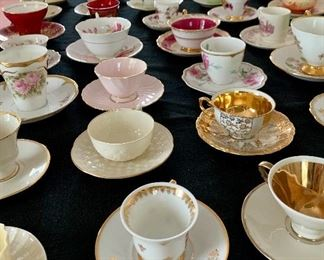 Demitasse as far as the eye can see! Know anyone who owns a tea room? Send them our way! :)