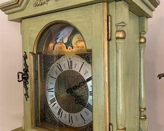 Vintage grandfather clock