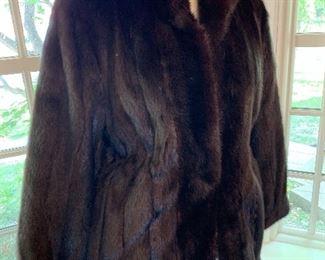 Genuine Mink, full length coat