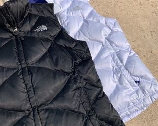 North Face Puffer vests perfect for the upcoming Winter