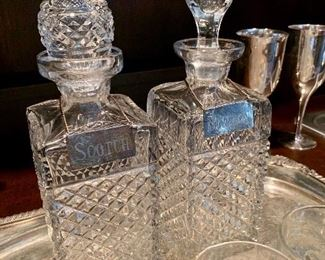 Make a statement with these elegant Decanters