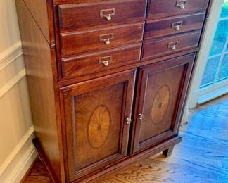 Multi Use 6 drawer velvet lined Server/Cabinet
