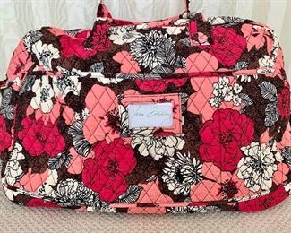 Quilted Vera Bradley duffle bag