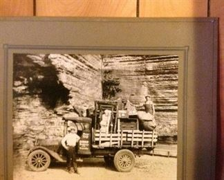Great Photo, original of one of the first freight companies in Eureka Springs Ar.