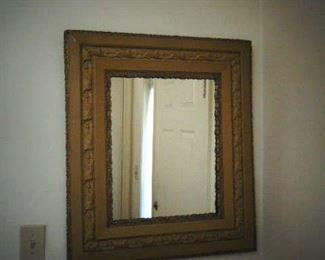 Nicely framed mirror