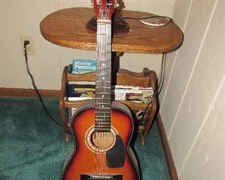 vintage 3/4 parlor guitar