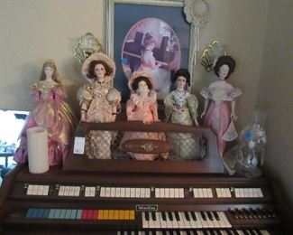 and some dolls