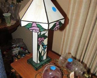 leaded glass lighting