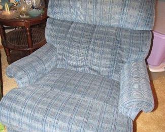 upholstered recliner