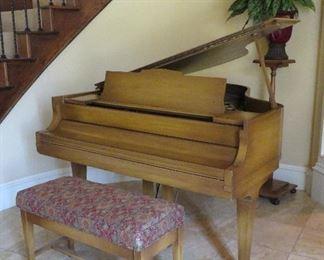 Hardman, Peck & Co. baby grand piano