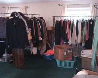 All clothing $1 each.. coats $5-$10 each. For a few exceptions..