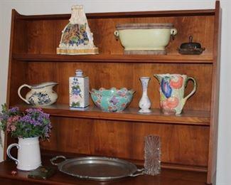 Hutch and Decorative Items