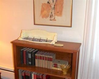 Book Shelf, Books and Art