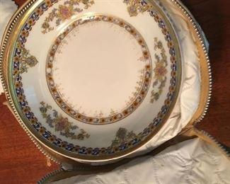 "Antique Haviland  China - Pattern name "" Oriental"""