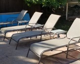 Lounge chairs $22.50 each