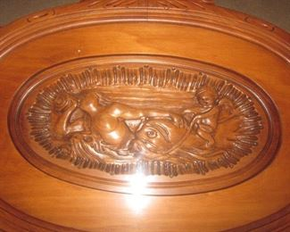 Carved Server Table