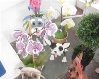 Doggie Planter Collections