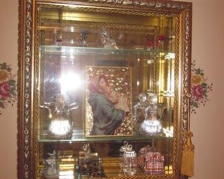Stunning Trinket Wall Display Cases Tons of Collectible Trinkets