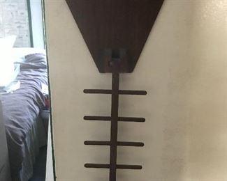 MCM wall tie rack