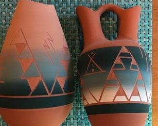 Native American pottery pottery Sioux