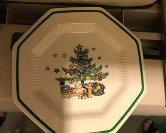 Large Nikko Christmastime set