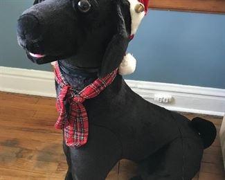 Huge mechanical dog