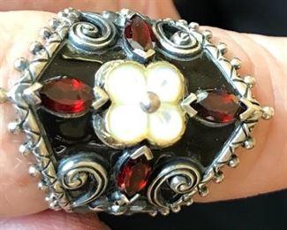 Barbara Bixby Sterling Ring