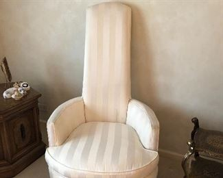 Mid century parlor chair