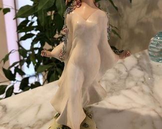 "Stunning 9 3/4"" Vintage Antonio Borsato Dancing Lady"