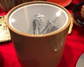 Mid Century ice bucket