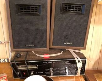 Marlin Am/FM with 8 track