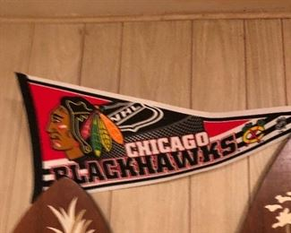 Chicago Blackhawks penant
