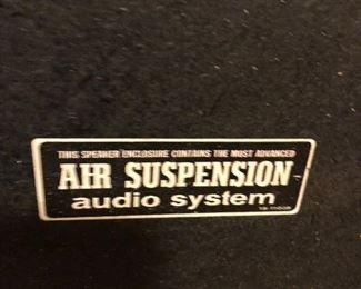 Air Suspension audio system